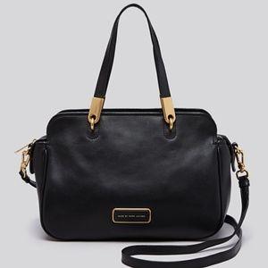 Black gold marc jacobs ligero satchel